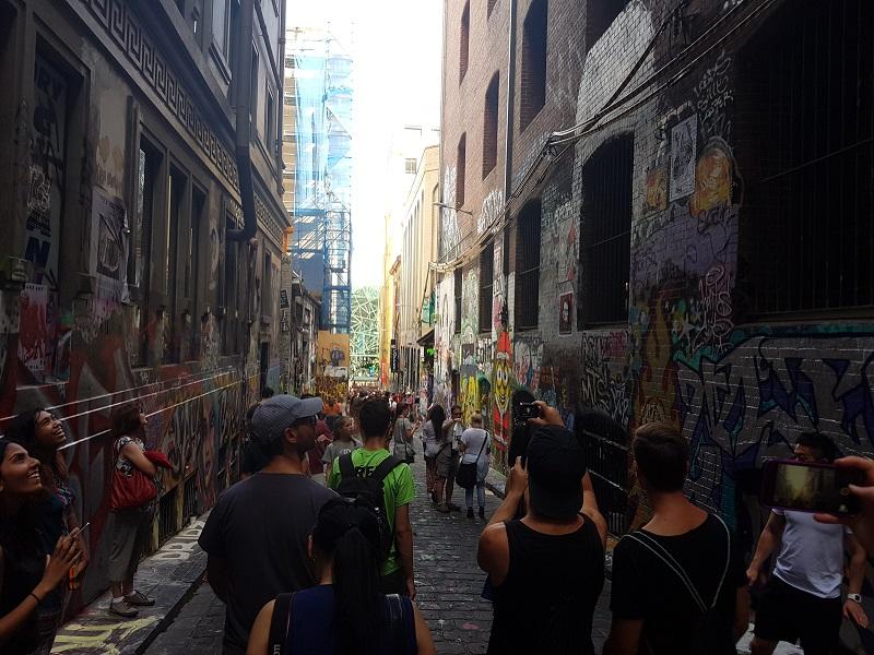 Melburn Ulice Utisci sa putovanja